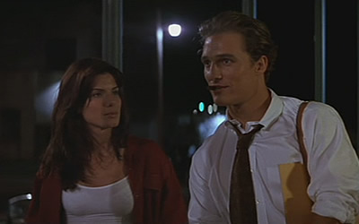 Sandra Bullock And Matthew Mcconaughey In A Time To Kill