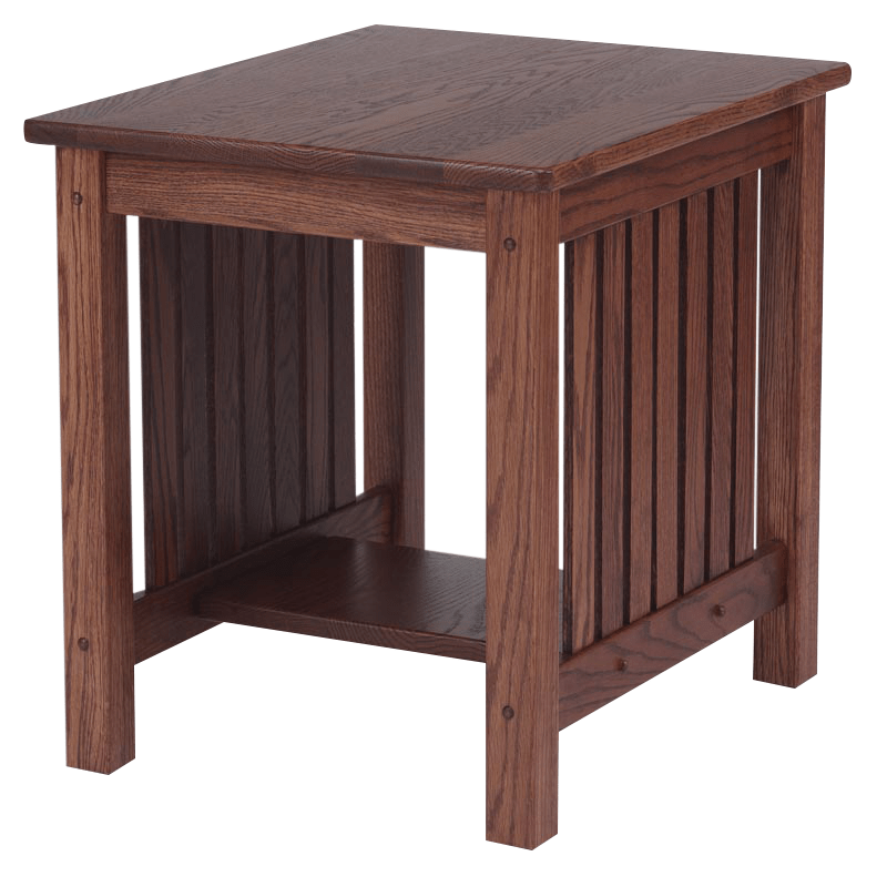 Solid Oak Mission Chair