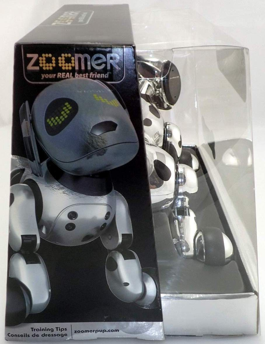 Robot Life Zoomer Dog Real