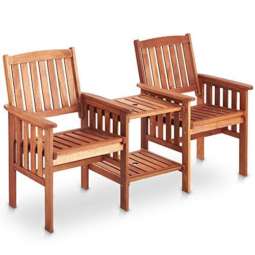 Hardwood Garden Love Seat