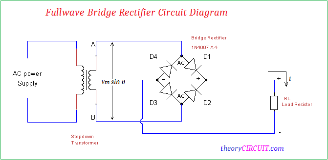 Bridge Rectifier Ic Voltage Regulator Diagram