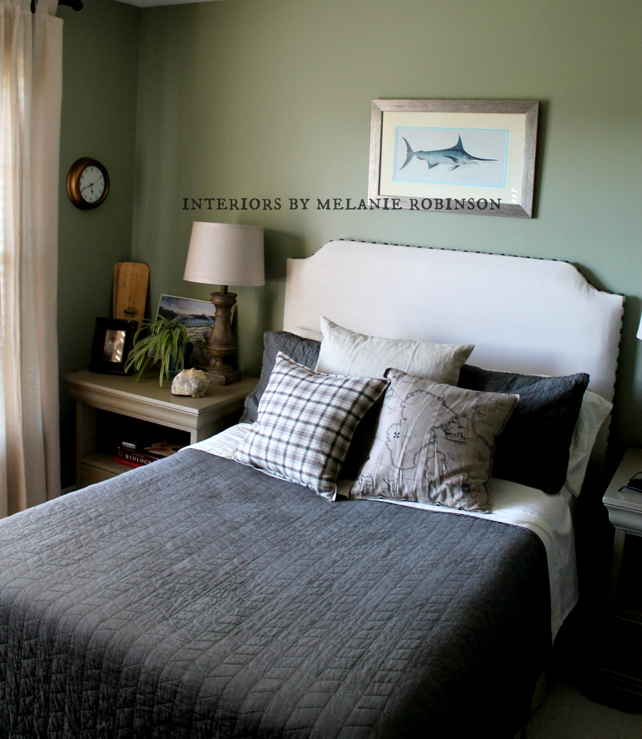 Teen Boy S Room With Restoration Hardware Vibe