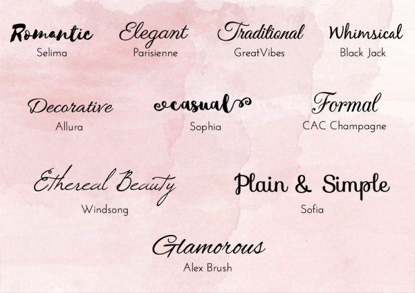 free wedding fonts # 75