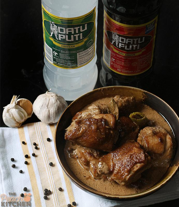 Manok Chicken Filipino Adobo Adobong
