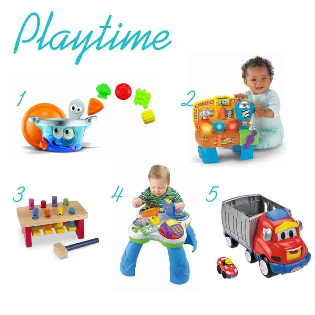 play time gifts for one year old www.thepinningmama.com