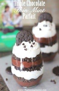 Triple Chocolate Thin Mint Parfait Recipe