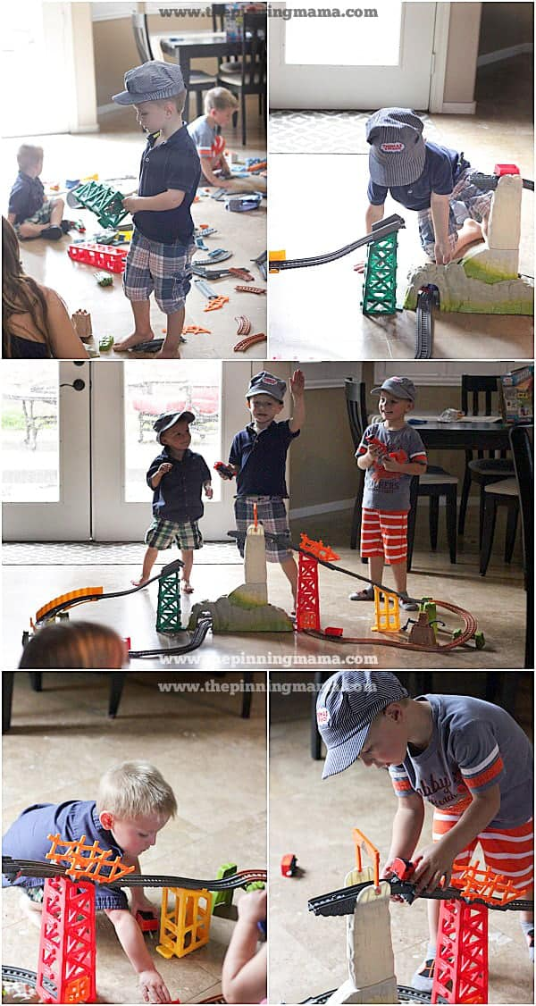 Thomas & Friends ™ TrackMaster™ sets are an awesome birthday or Christmas gift for boys that are 4, 5 and 6 years old! Hours of fun and entertainment!