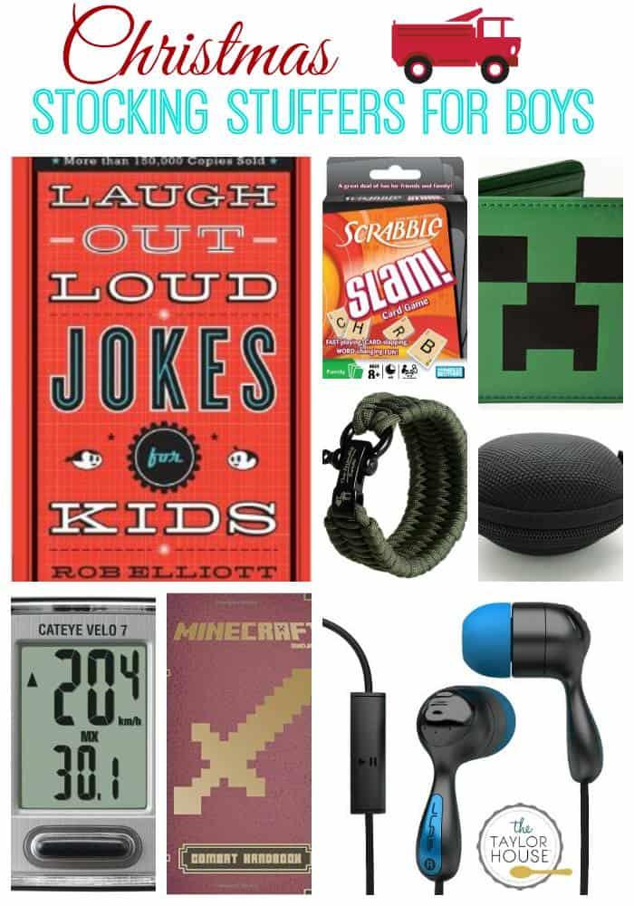 Stocking Stuffer Ideas for Boys
