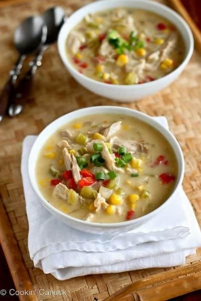Light Turkey & Corn Chowder