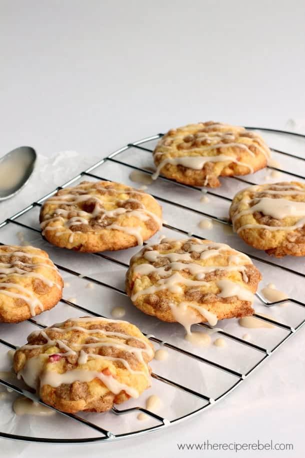 Maple-Glazed-Apple-Crisp-Cookies-www.thereciperebel.com-1