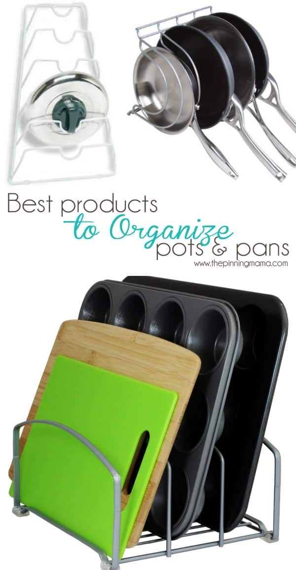This vertical pan organizer changed my life!