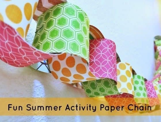 What a fun idea! Count down all the fun activities to do this summer with this easy kids craft