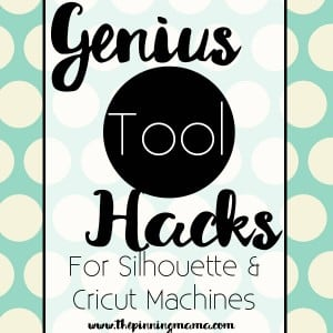 Tool tips and tricks for SIlhouette CAMEO, Cricut, and other cutting machines