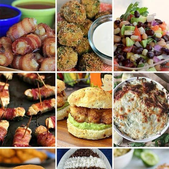Best appetizers for watching football. Need to make all of these!