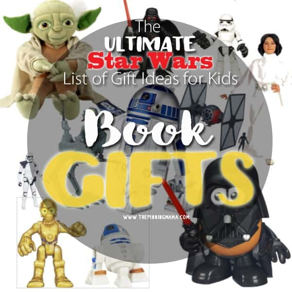 I love to gift books for birthday presents because you can never have too many books!  Love this list of Star Wars themed books! Perfect for Christmas this year!