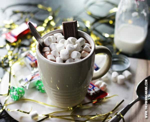 3 Minute Nestle Crunch Hot Chocolate Recipe - This is a recipe I could not live without during winter.  So delicious!!