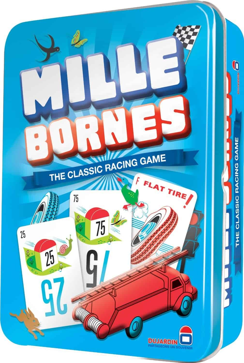 10+ Awesome Card Games for Kids : Mille Bornes | www.thepinningmama.com