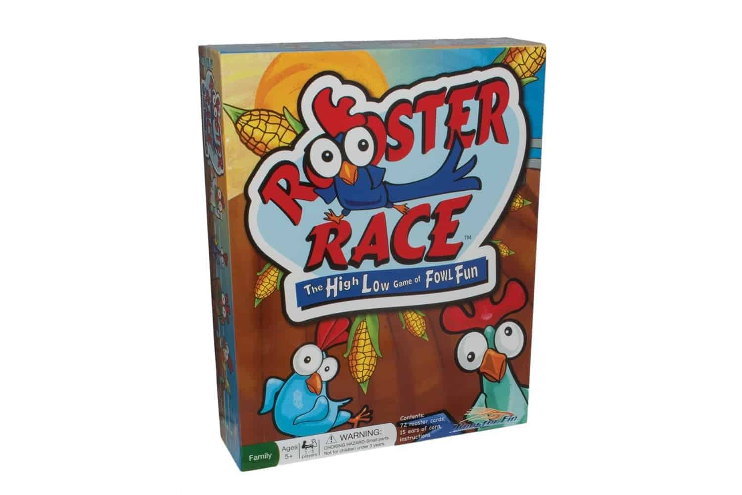 10+ Awesome Card Games for Kids : Rooster Race | www.thepinningmama.com