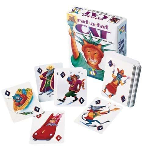 10+ Awesome Card Games for Kids : Rat-A-Tat-Cat | www.thepinningmama.com