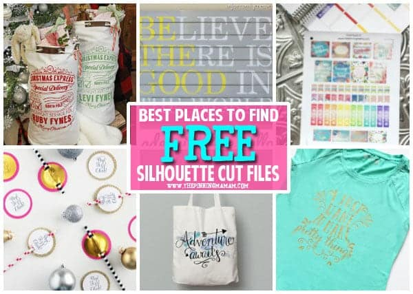 FREE cut files for your Silhouette CAMEO, Portrait, Curio, & Mint