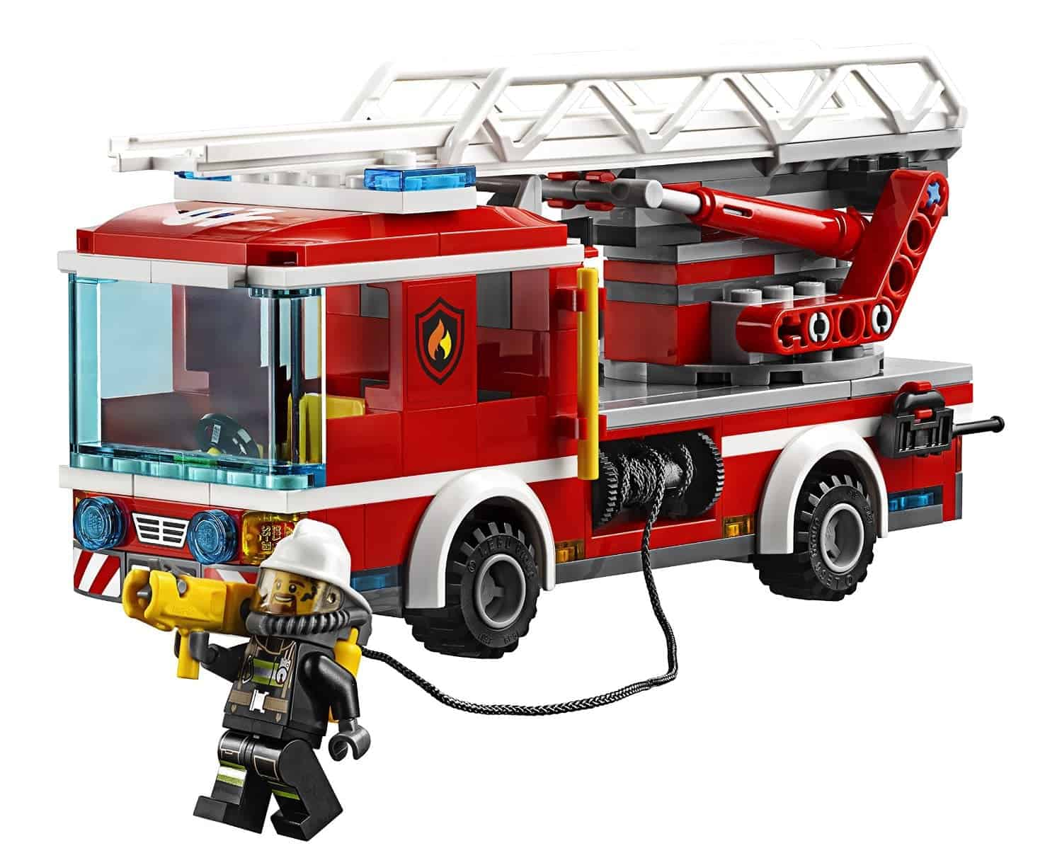 Lego Gift Ideas by Age - Toddler to Twelve Years: Fire Ladder Truck | www.thepinningmama.com