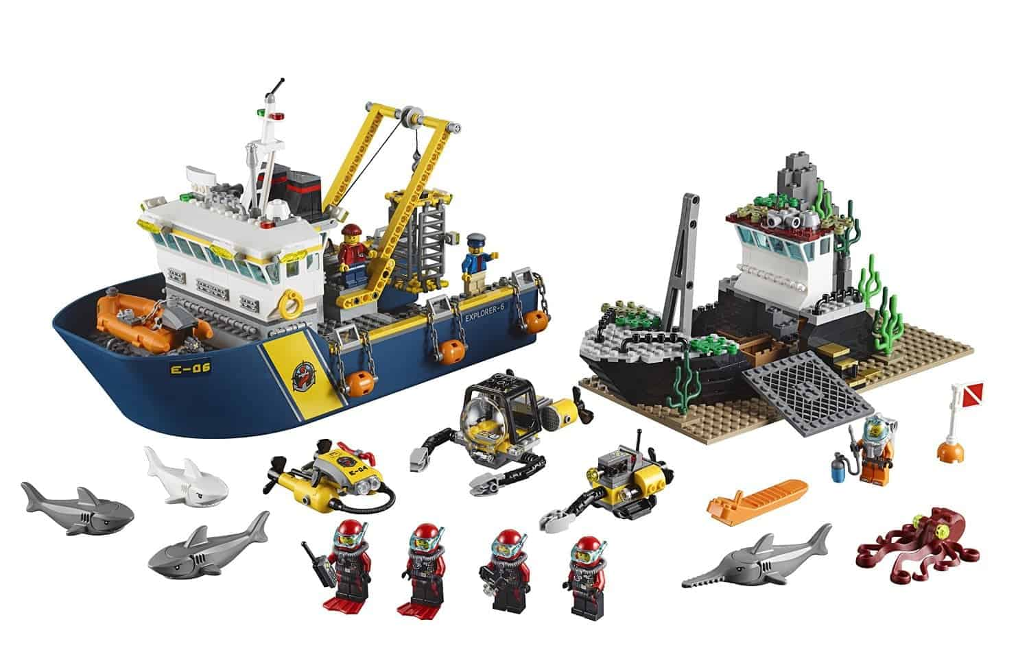 Lego Gift Ideas by Age - Toddler to Twelve Years: Deep Sea Exploration | www.thepinningmama.com