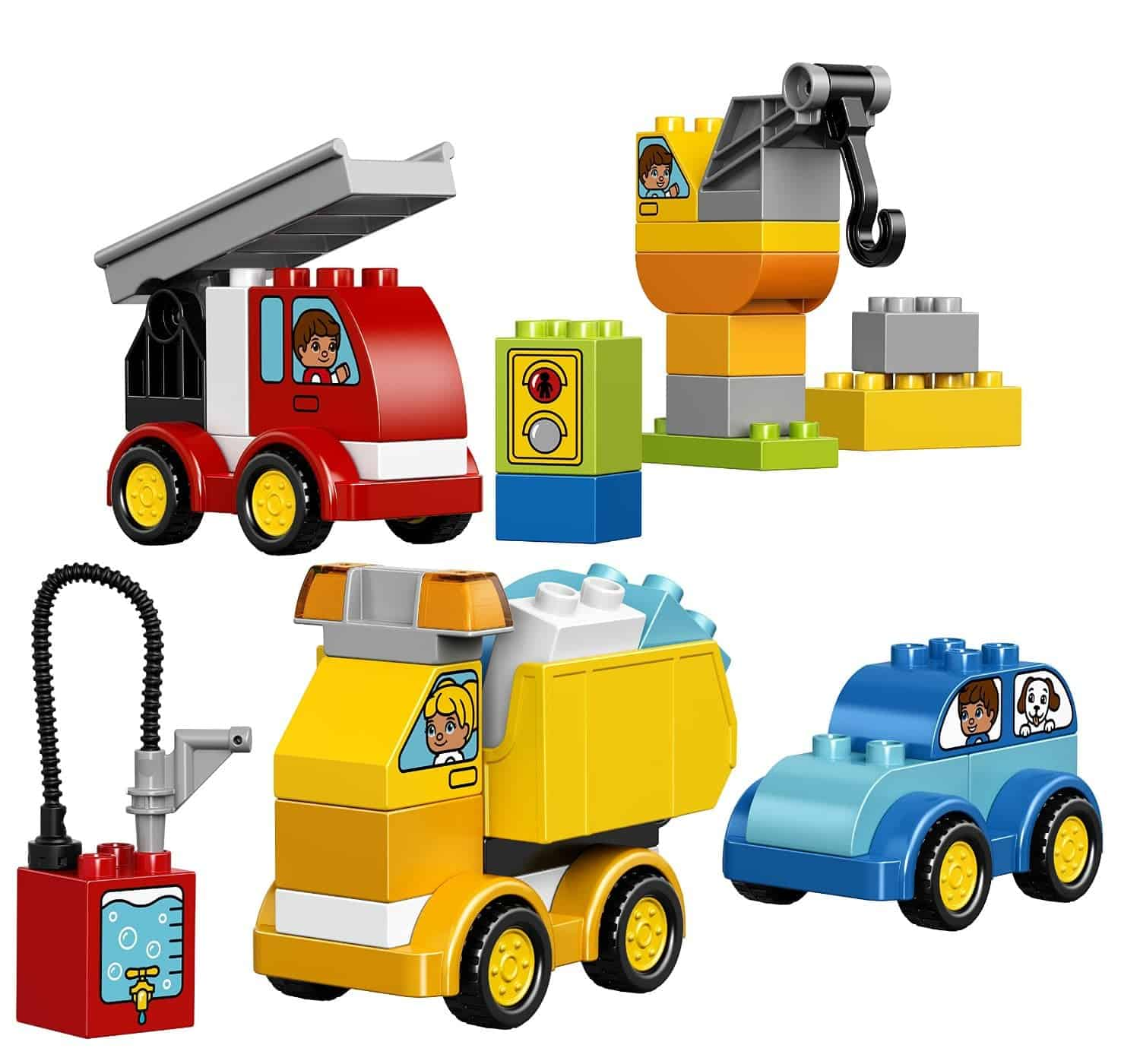 Lego Gift Ideas by Age - Toddler to Twelve Years: My First Cars and Trucks | www.thepinningmama.com