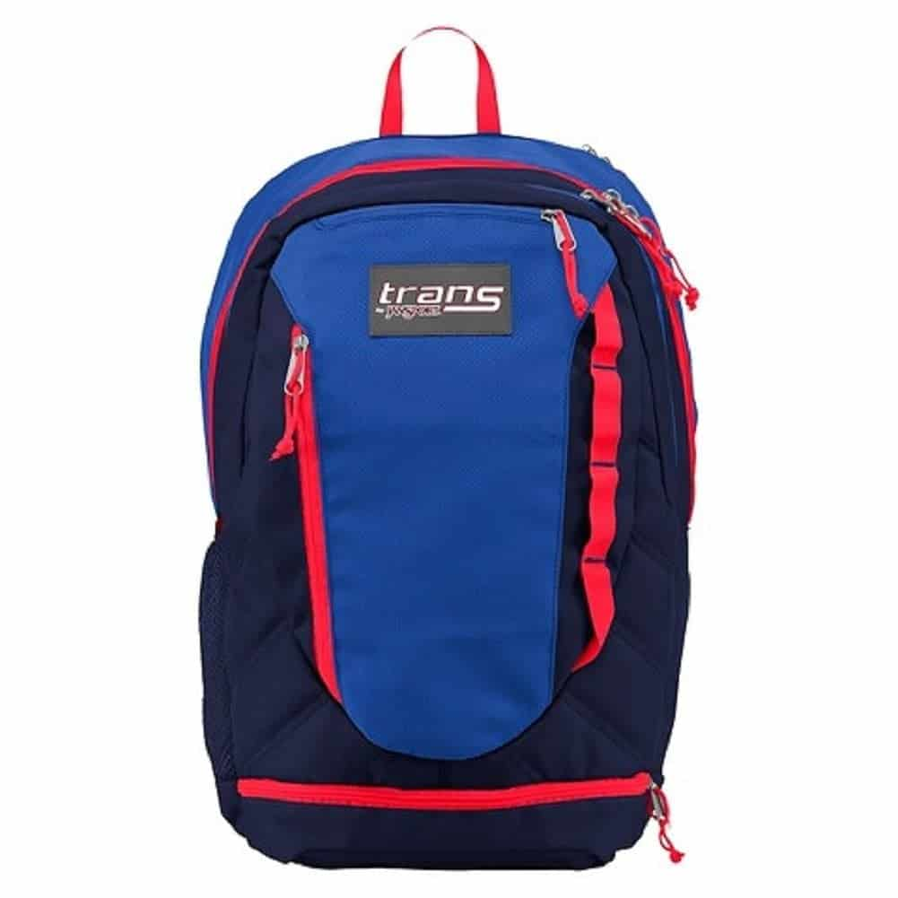 Jansport Trans Backpack - Best backpack for school - love that it has lots of pockets for different items and great if your kid uses a laptop or ipad for school so it has its own space!