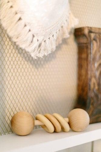 10+ Beautiful Handmade Baby Gifts: Classic Rattle | www.thepinningmama.com