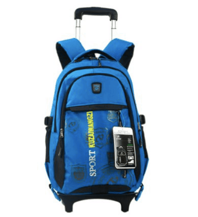 10+ Best Backpacks for Boys : Wheeled Trolley | www.thepinningmama.com