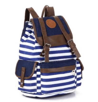 10+ Coolest Backpacks for Girls: Fashionable Canvas| www.thepinningmama.com