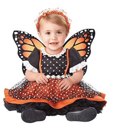 10+ Cutest Halloween Costumes for Baby Girl : Butterfly | www.thepinningmama.com