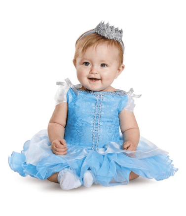 10+ Cutest Halloween Costumes for Baby Girl : Cinderella | www.thepinningmama.com