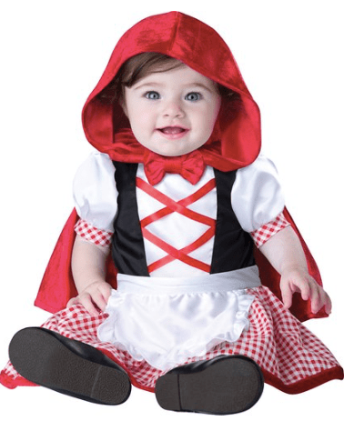 10+ Cutest Halloween Costumes for Baby Girl : Red Riding Hood| www.thepinningmama.com