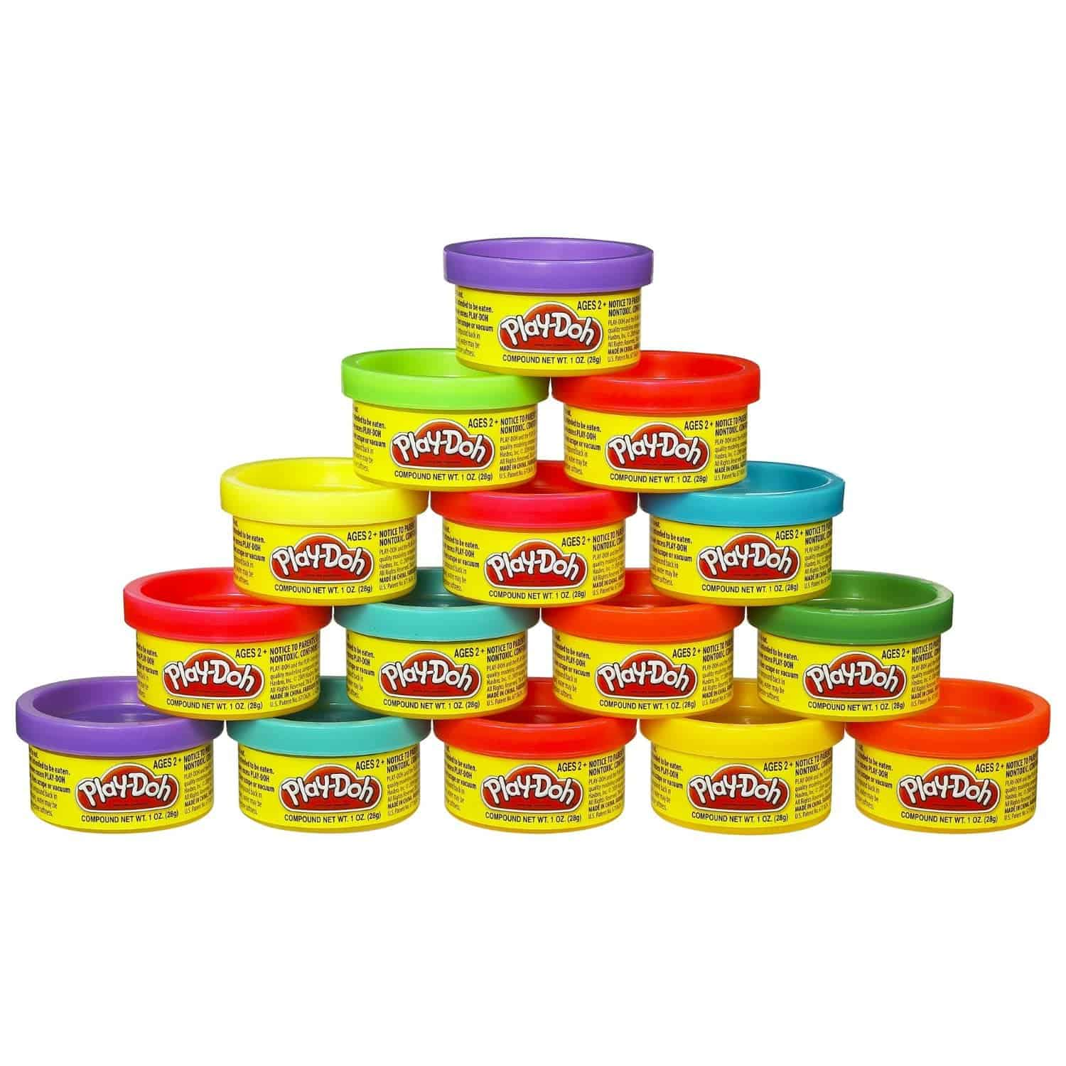 10+ Great Halloween Treats to Give out that Aren't Candy: Play Doh | www.thepinningmama.com