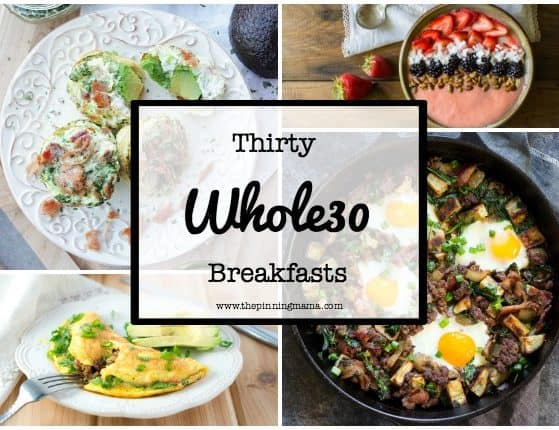 30 Days of Whole30 Breakfasts: Casseroles| www.thepinningmama.com