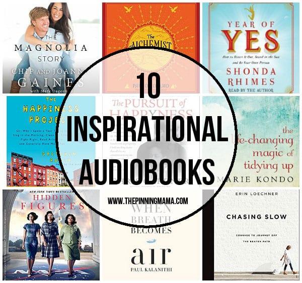 10 Inspirational Audiobooks