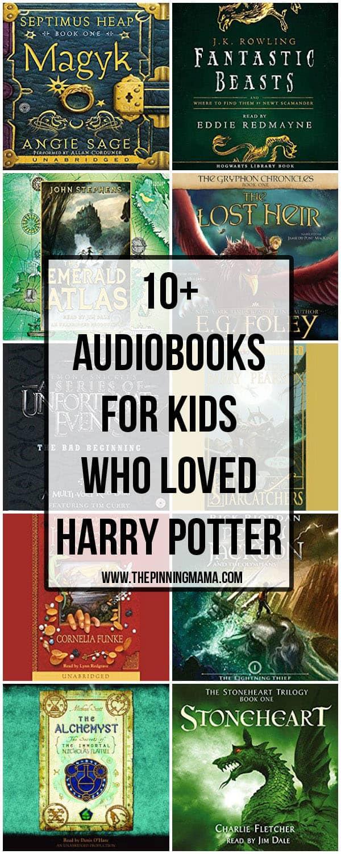 Audiobooks for kids who loved reading Harry Potter