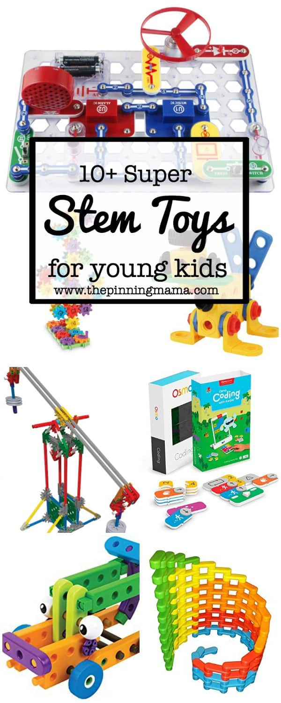 10+ Super Entertaining Stem Toys for Kids | www.thepinningmama.com