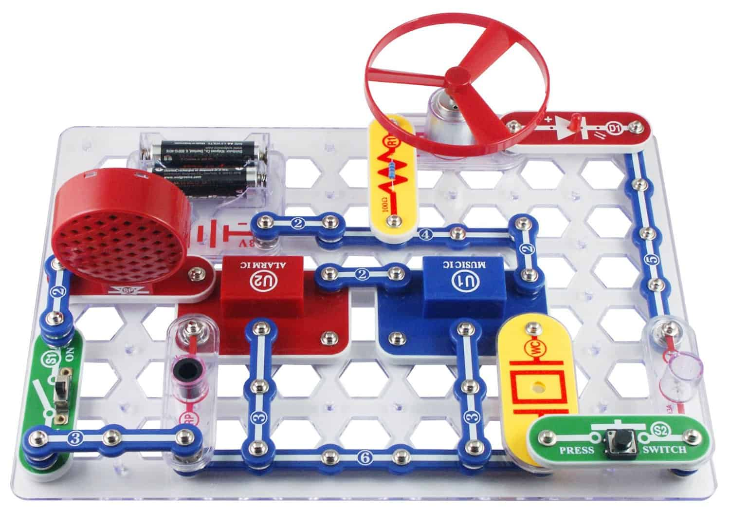 10+ Super Entertaining Stem Toys for Kids: Snap Circuits | www.thepinningmama.com