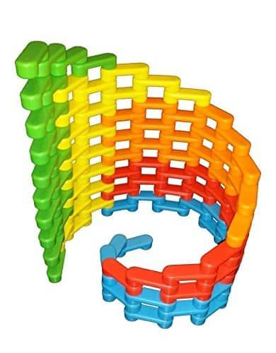 10+ Super Entertaining Stem Toys for Kids: Magz Bricks | www.thepinningmama.com