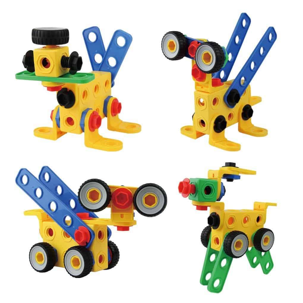 10+ Super Entertaining Stem Toys for Kids: Construction Building Blocks | www.thepinningmama.com