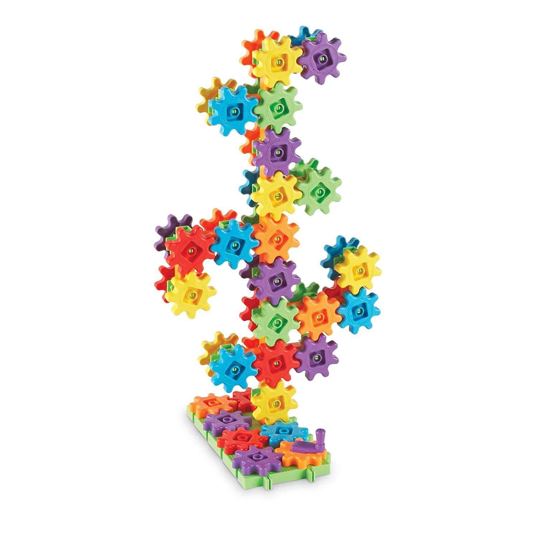 10+ Super Entertaining Stem Toys for Kids: Gears Gears Gears | www.thepinningmama.com