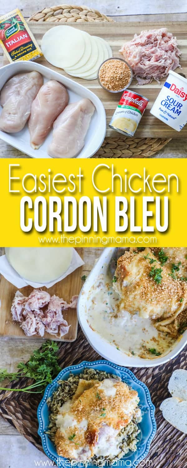 Chicken Cordon Bleu - Easy Dinner Recipe