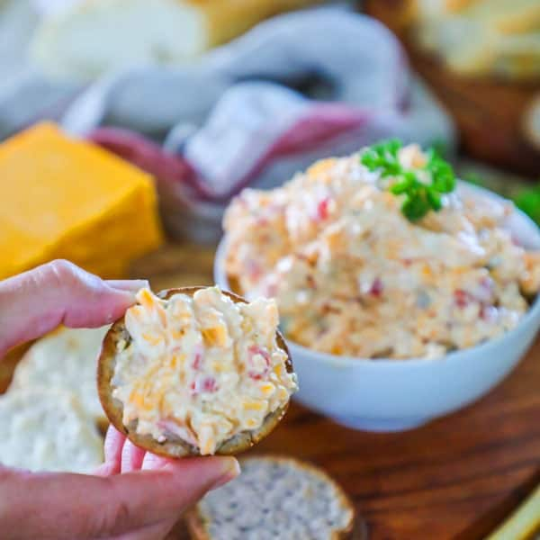 Pimento Cheese Recipe - The BEST Pimento Cheese Dip!