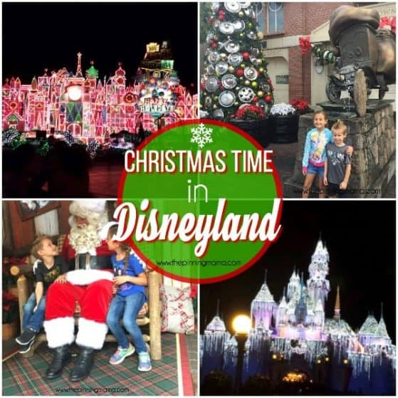 Disneyland is the best at Christmas