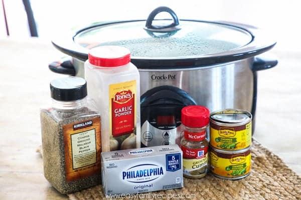 Crock Pot Green Chile Chicken Ingredients