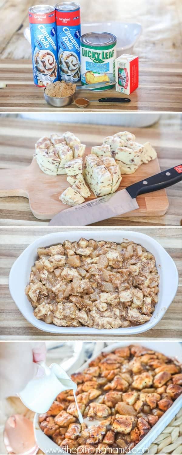How to make apple breakfast casserole