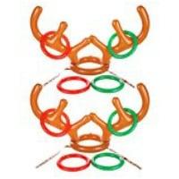 Inflatable Reindeer Antlers game for school parties