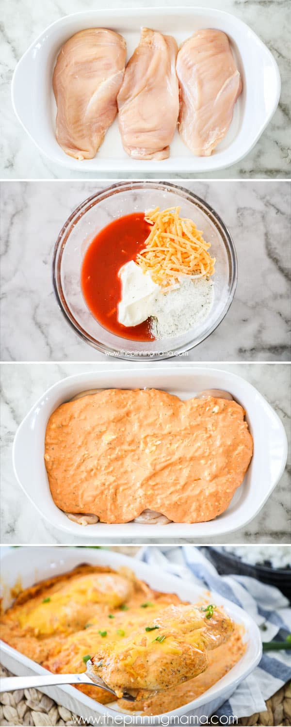 How to make Buffalo Chicken Casserole
